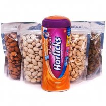 Healthy Dry Nuts & Women's Horlicks