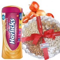 Apple Basket, Dry Nuts and Women's Horlicks