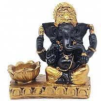 Ganesh Ji Statue With Candle Holder