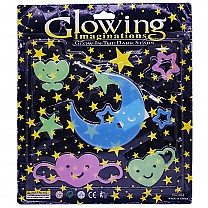 Glowing Imaginations Light in Dark Stars & Moon Stickers (2)