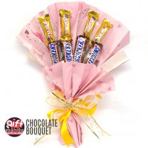 Chocolates Bouquet (Snickers & 5Star)