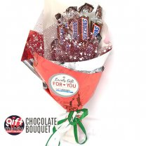 Snickers Miniatures Chocolate Bouquet