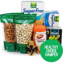 Sugar Free Combo Gift With Dry Nuts & Tea