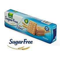 Gullon Sugar Free Fiber Biscuits 170g