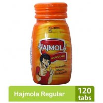 Buy online Hajmola Regular 120 Tab Bottle in Nepal