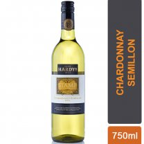 Hardys Stamp Chardonnay Semillon 750ml (White Wine)