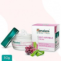 Himalaya Anti- Wrinkle Cream with Aloe Vera, Grapes 50g