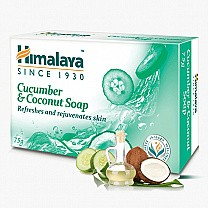 Himalaya Cucumber & Coconut 125g Bathing Soap Bar