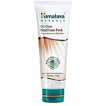 Himalaya Oil Clear Mud Face Pack (100g)