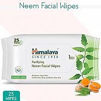 Himalaya Purifying Neem Facial Wipes (25 Wipes)