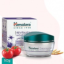 Himalaya Revitalizing - Night Cream 50g (white lily, tomato)