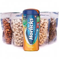 Nature's Best Dry Nuts and Horlicks