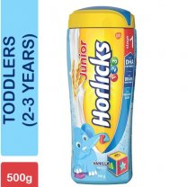 Junior Horlicks Vanilla 500g Stage 1 (Toddlers, 2-3 Years)
