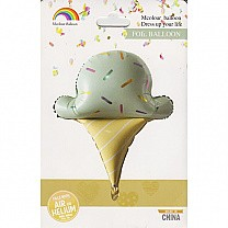 Ice Cream Inflatable Foil Balloon