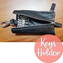 Leather Key-chain With Key Holders for Him