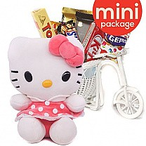 Chocolate Rickshaw with Lovely Kitty