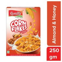 Kwality Corn Flakes Almond And Honey 250g