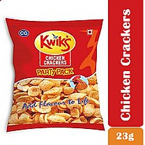 Kwik's Chicken Crackers 23gm