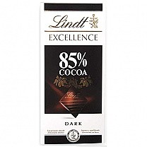 Lindt Excellence 85% Cocoa Rich Dark 100g