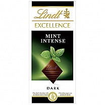 Lindt Excellence Mint Intense Dark Chocolate 100g