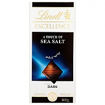 Lindt Excellence A Touch of Sea Salt Dark Chocolate 100g