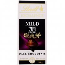 Lindt Excellence Mild 70% Cocoa Mild Dark Chocolate 100g