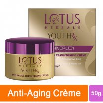 Lotus Herbals Youth Rx Gineplex Anti Ageing Transforming Creme 50g