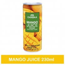 Chabaa Can Juice Mango 230ml