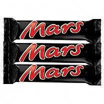 Mars Chocolate Bar X 3