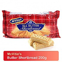 McVitie's Butter Shortbread Biscuits 200g