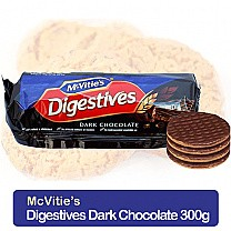 McVitie's Digestives Dark Chocolate Wheatmeal Biscuits 300g