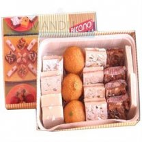 Assorted Sweets Mithai Box (0.5kg)