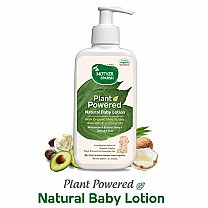 Mother Sparsh Natural Baby Lotion 200ml (Organic Herbs, Plant Extracts & Essential Oils)