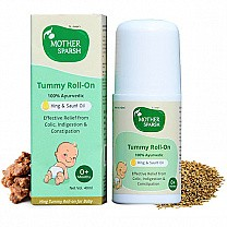Mother Sparsh Hing Tummy Roll-on for Baby (100% Ayurvedic for Colic Relief & Digestion)