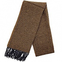Plain Winter Muffler For Men (Light Brown)Plain Winter Muffler For Men (Brown)