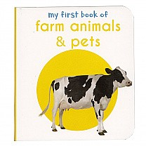 My First Book of Farm animals & Pets by Wonder House