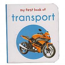 My First Book of Transport by Wonder House