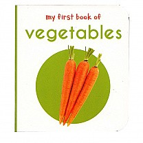 My First Book of Vegetables by Wonder House