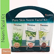 Himalaya Pure-Skin Neem Facial Kit (Set Of 3)