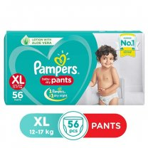 Pampers Baby Dry Pants XL (12-17 kg) 56 Pants