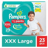 Pampers XXXL (17+ kg) 23 Diapers Pants (all-round protection)