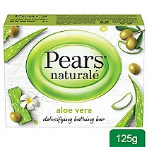 Pears Naturale Aloe Vera Detoxyfying Bathing Soap Bar 125g