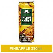 Chabaa Can Juice Pineapple 230ml