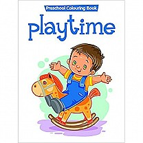 Playtimes Preschool Colouring Book