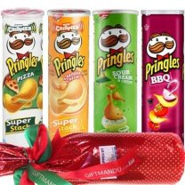 Sweet Red Wine With 4 Flavor Pringles