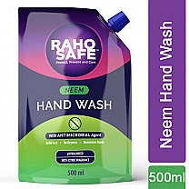 Raho Safe Neem Hand Wash Refill Pack 500ml
