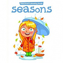 Seasons Preschool Colouring Book