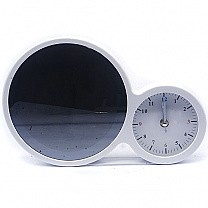 Table Clock With LED Light Photo Frame (Touch Control)