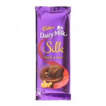 Cadbury Dairy Milk Silk Fruit & Nut 55g