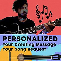Personalized Music Video (Your Greeting Message + Request a Song)